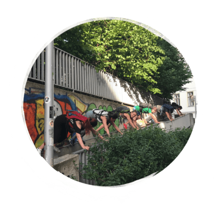 Parkour Outdoor Kurs
