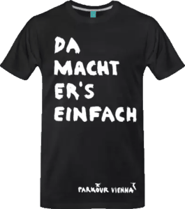 Da macht er'S einfach - Ninja Warrior T-Shirt