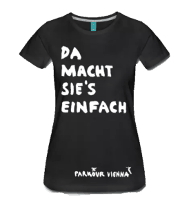Da macht sie's einfach - T-Shirt